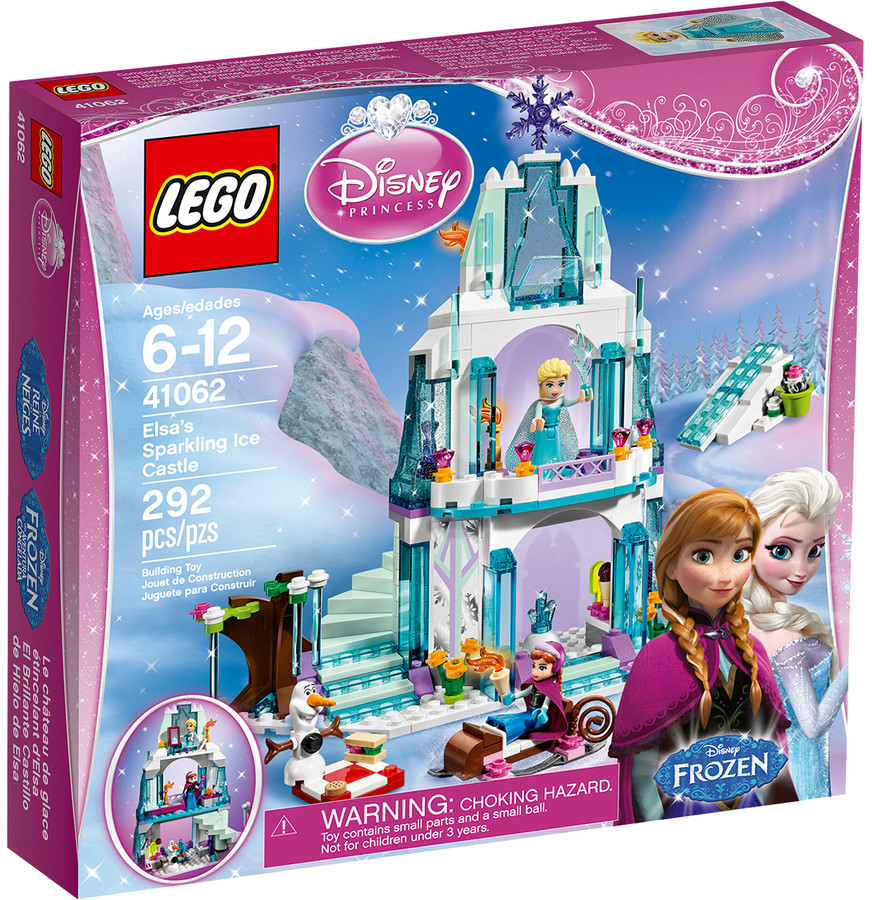LEGO 41062 - Elsa szikrázó jégkastélya